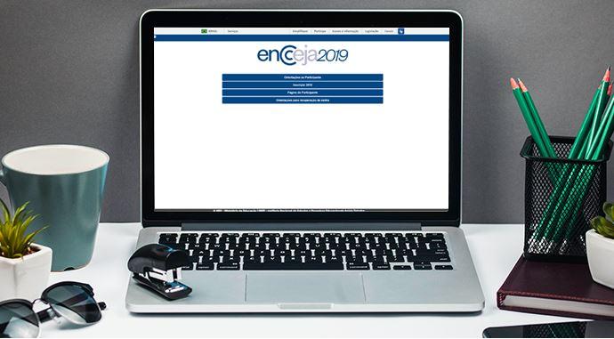 Página do Participante Encceja 2022
