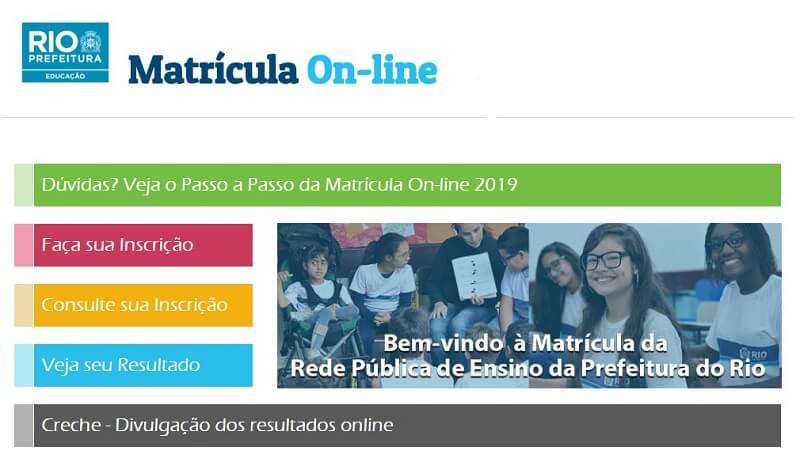 Resultado Matrícula Rio