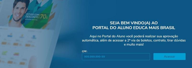 Portal do Aluno Educa Mais Brasil 2022
